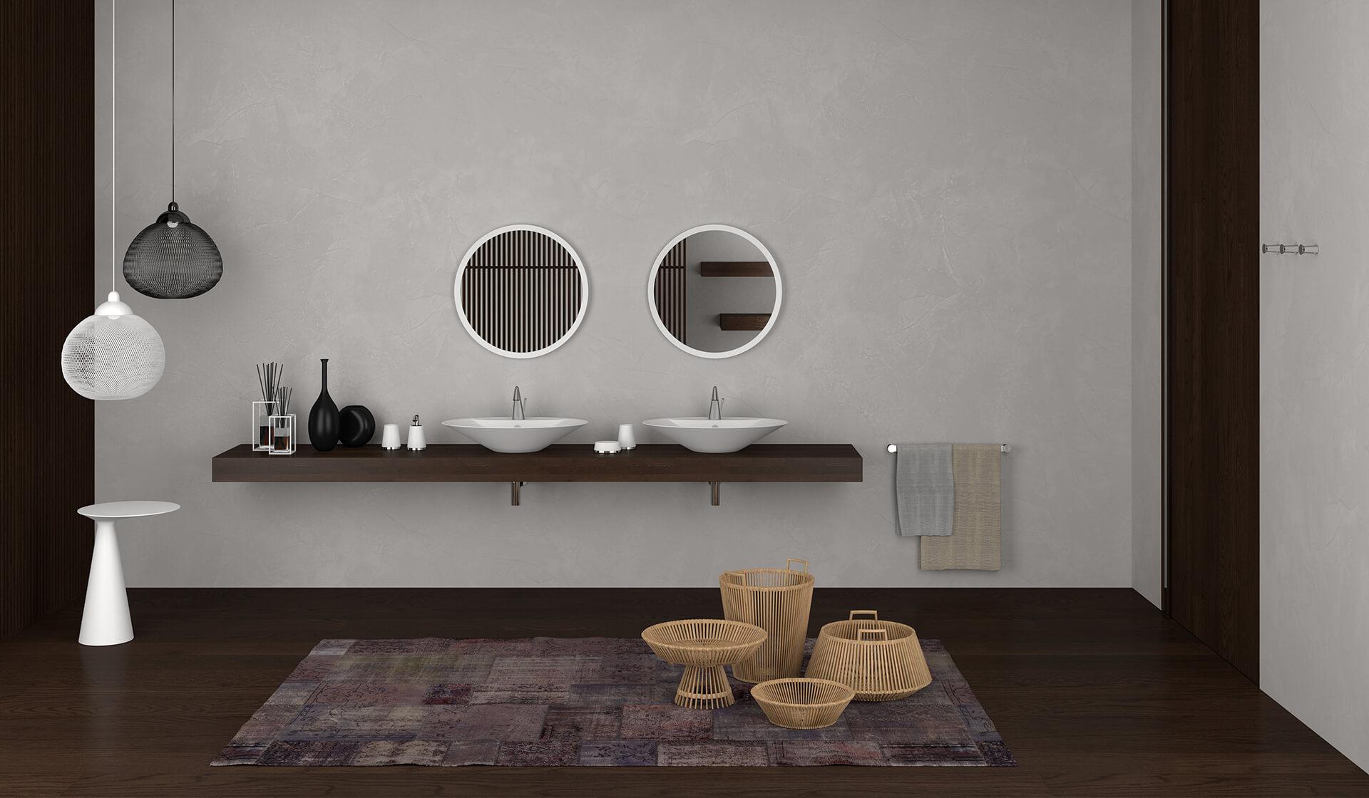 Rendering 3D Fotorealistico Interno Arredo Bagno 01 Rendering Evolution