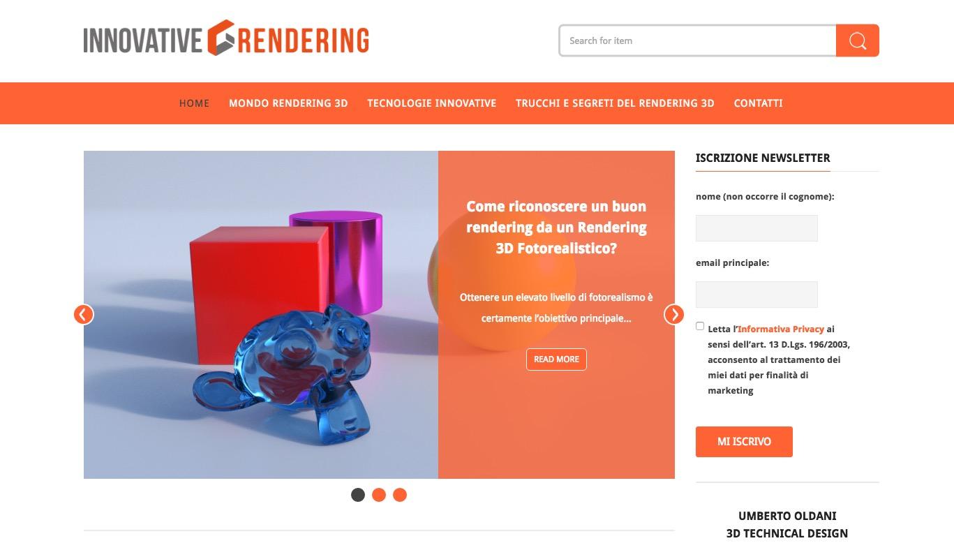Innovative Rendering blog Rendering Evolution