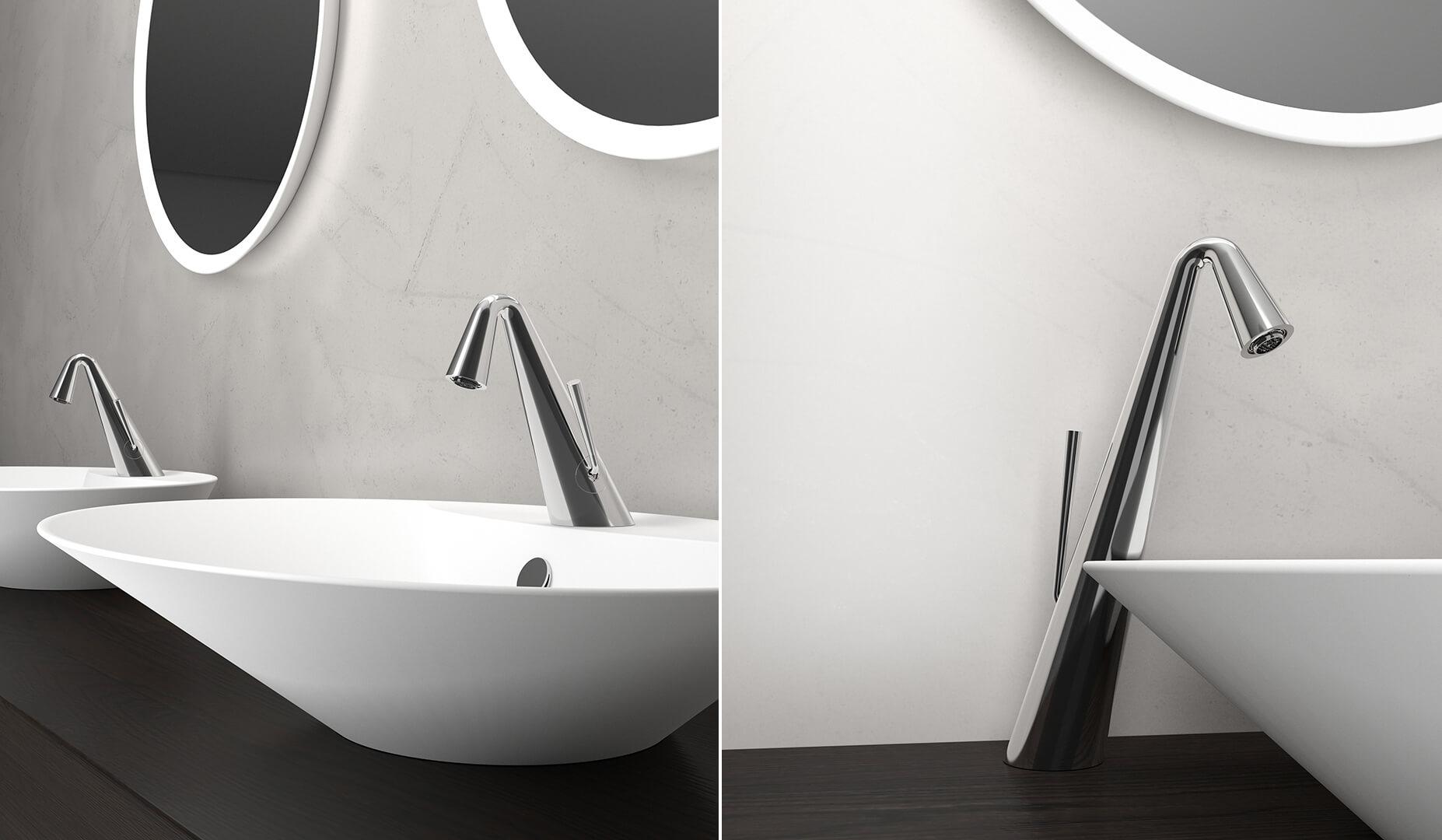 Rendering d fotorealistico interno arredo bagno rendering
